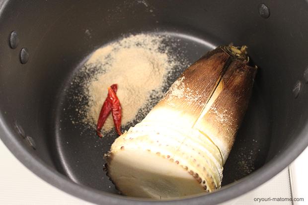 Bamboo shoot boiled04