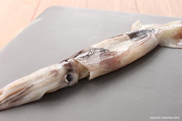 イカのさばき方。筒抜きと開きの2つの方法をご紹介